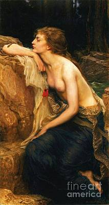 Painting - Lamia by Pg Reproductions