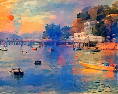 Digital Art - Lamma Island At Sunset by Yury Malkov