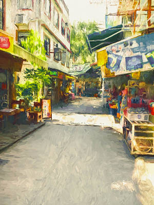 Digital Art - Lamma Island Near Hong Kong 12 by Yury Malkov