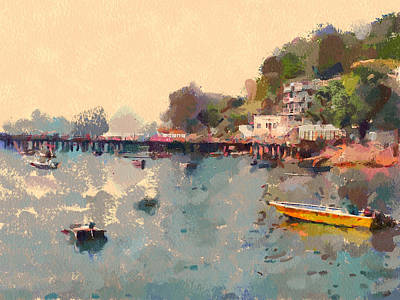 Digital Art - Lamma Island Near Hong Kong 13 by Yury Malkov