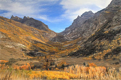 Photograph - Lamoille Canyon by Donna Kennedy