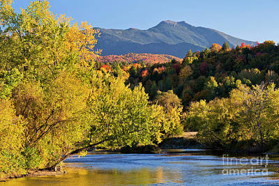 Photograph - Lamoille River Autumn View 2 by Alan L Graham