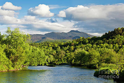 Photograph - Lamoille River Spring View by Alan L Graham