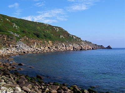 Photograph - Lamorna Cove Landscape by Denise Mazzocco