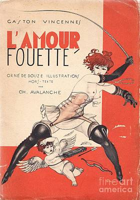 L'amour Fouette Art Print by Mario Laboccetta