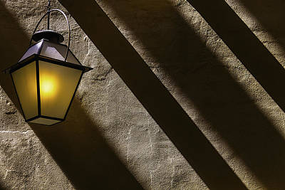 Photograph - Lamp Among Shadows by Garry Gay