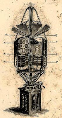 Lamp Contraption Art Print