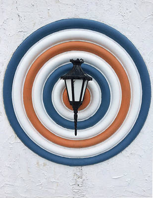 Photograph - Lamp Hits The Bullseye by Matthew Wolf