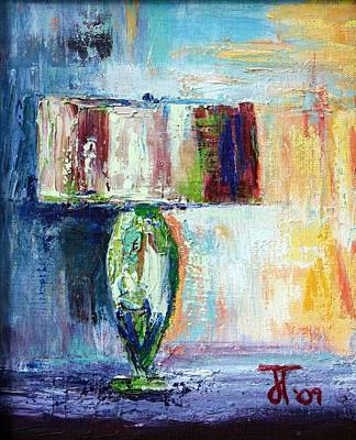 Painting - Lamp by Jill Tennison