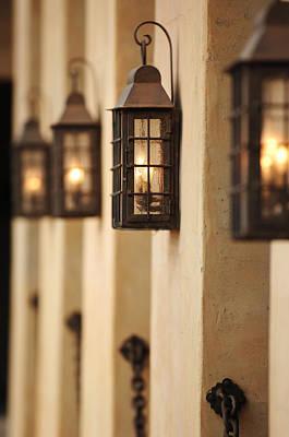 Photograph - Lamp Light by Jill Reger