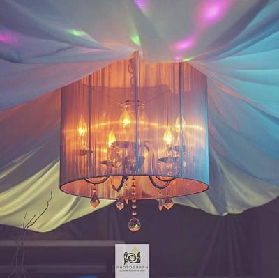 Photograph - Lamp Lights by Sheila Mcdonald