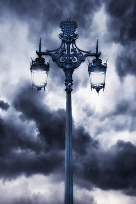 Lamp Post Print by Joana Kruse