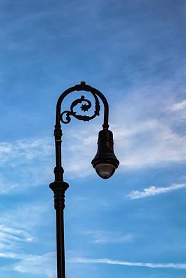 Photograph - Lamp Post by Robert Ullmann