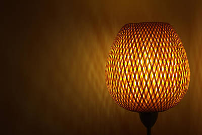 Photograph - Lamp by RKAB Works