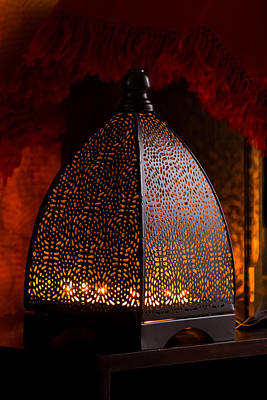 Photograph - Lamp Shades  by Ramabhadran Thirupattur