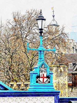 Photograph - Lamp Standard With City Of London Coat Of Arms by Dorothy Berry-Lound