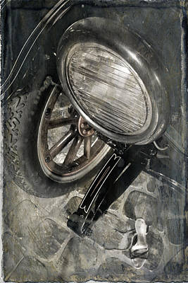 Photograph - Vintage Car #3124 by Andrey  Godyaykin
