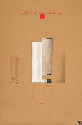 Painting - Lampe De Bureau by Paul Brandt