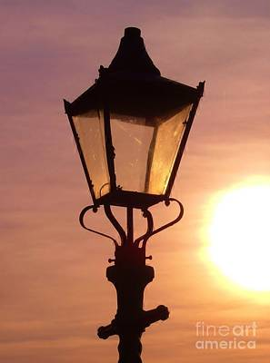 Photograph - Lamplight by Richard Brookes