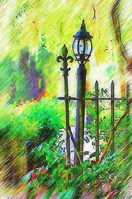 Photograph - Lamppost by Donna Bentley