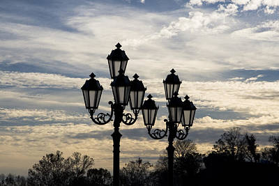 Photograph - Lampposts by Patricia Montgomery