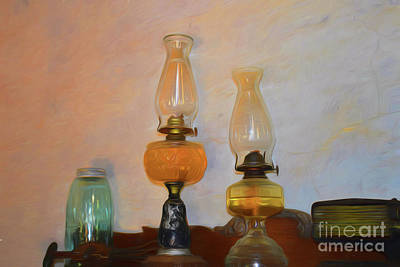 Photograph - Lamps 11718 by Ray Shrewsberry