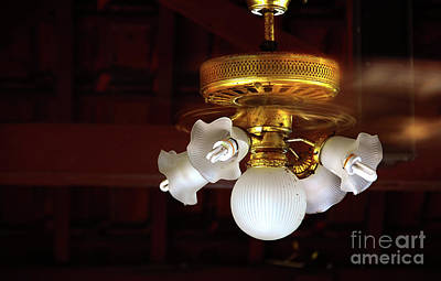 Photograph - Lamps by Charuhas Images