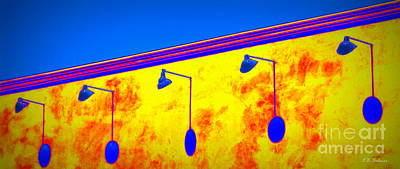 Photograph - Lamps Plus Colors by Kevin Bohner