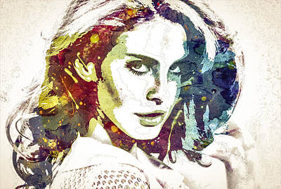 Lana Digital Art - Lana by Rafael Villa