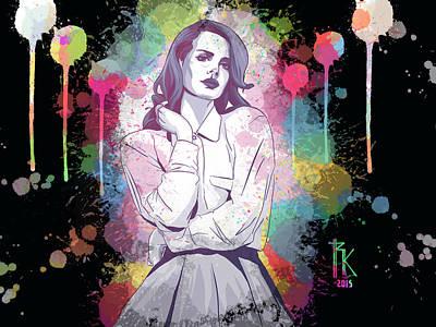 Lana Digital Art - Lana by Ryan Kjolberg