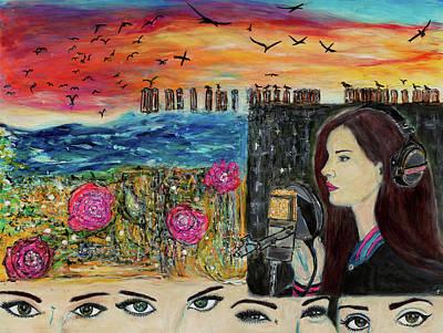 Painting - Lana Trance by Lindsay Strubbe