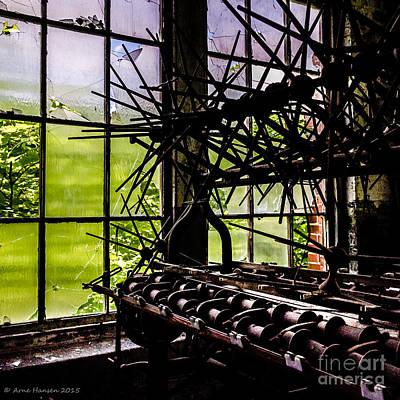 Photograph - Lonaconing Silk Mill I by Arne Hansen
