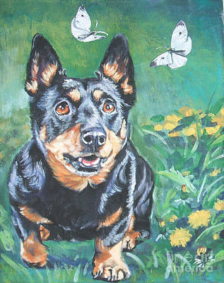 Painting - Lancashire Heeler by Lee Ann Shepard