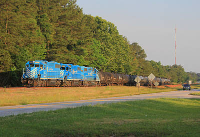 Photograph - Lancaster And Chester Railroad 20 by Joseph C Hinson Photography