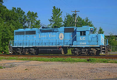 Photograph - Lancaster And Chester Railroad Gp38m-2 #2268 Roster by Joseph C Hinson Photography