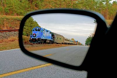 Photograph - Lancaster And Chester Santa Train Image by Joseph C Hinson Photography