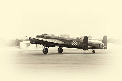Photograph - Lancaster Bomber by Stewart Scott