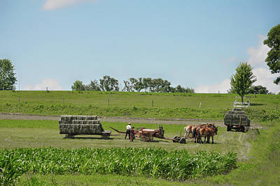 Amish Photograph - Lancaster County Pennslyvania  - The Amish by Bill Cannon