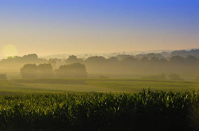 Lancaster County Sunrise Art Print by Bill Cannon