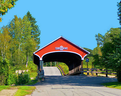 Photograph - Lancaster Covered Bridge by Bill Barber