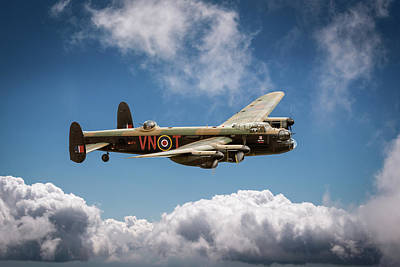 Photograph - Lancaster Pa474 Vn-t by Gary Eason