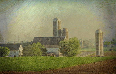 Photograph - Lancaster Pennsylvania Farm by Dyle Warren