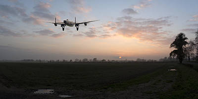 Photograph - Lancaster Sunset by Gary Eason