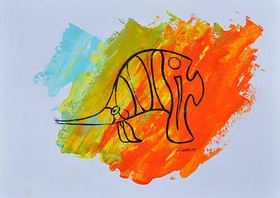 Painting - Lance Id 03/30 by Eduard Meinema