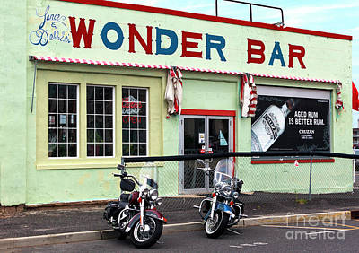 Photograph - Lance And Debbie's Wonder Bar by John Rizzuto