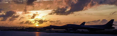 Photograph - Lancer Flightline by Peter Chilelli