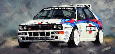 Martini Royalty-Free and Rights-Managed Images - Lancia Delta Integrale - 04 by Andrea Mazzocchetti