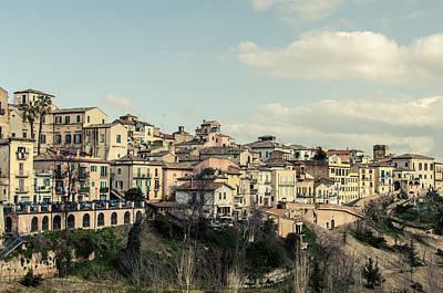 Italian Landscape Photograph - Lanciano - Abruzzo - Italy  by Andrea Mazzocchetti
