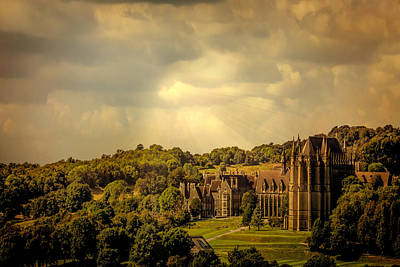 Lancing College Art Print by Chris Lord