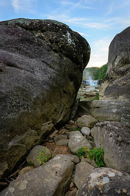 Photograph - Land Between The Rocks by Michael Scott
